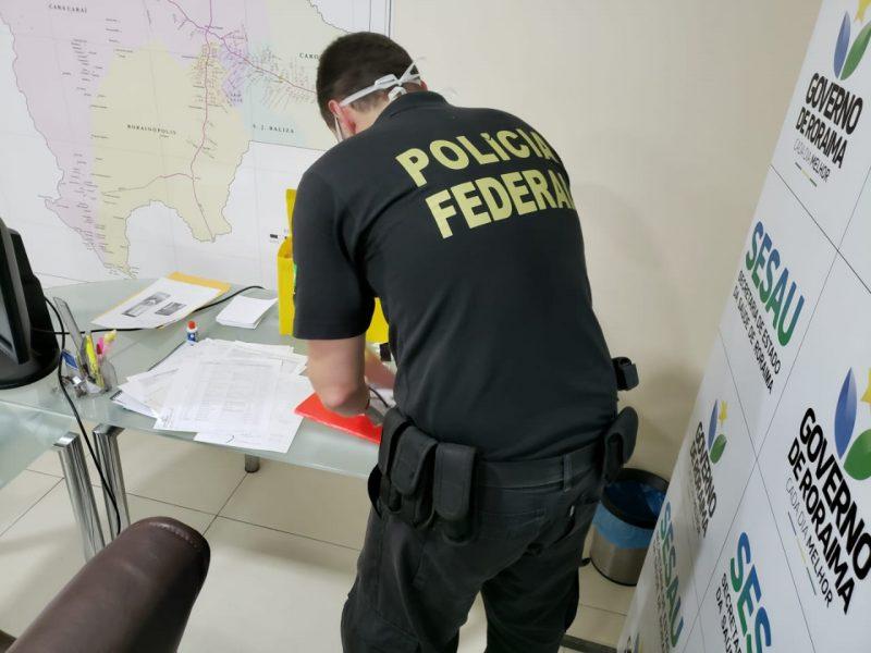 Operação tem mandado em Santa Catarina, outros sete estados e o Distrito Federal – Foto: PF/Divulgação
