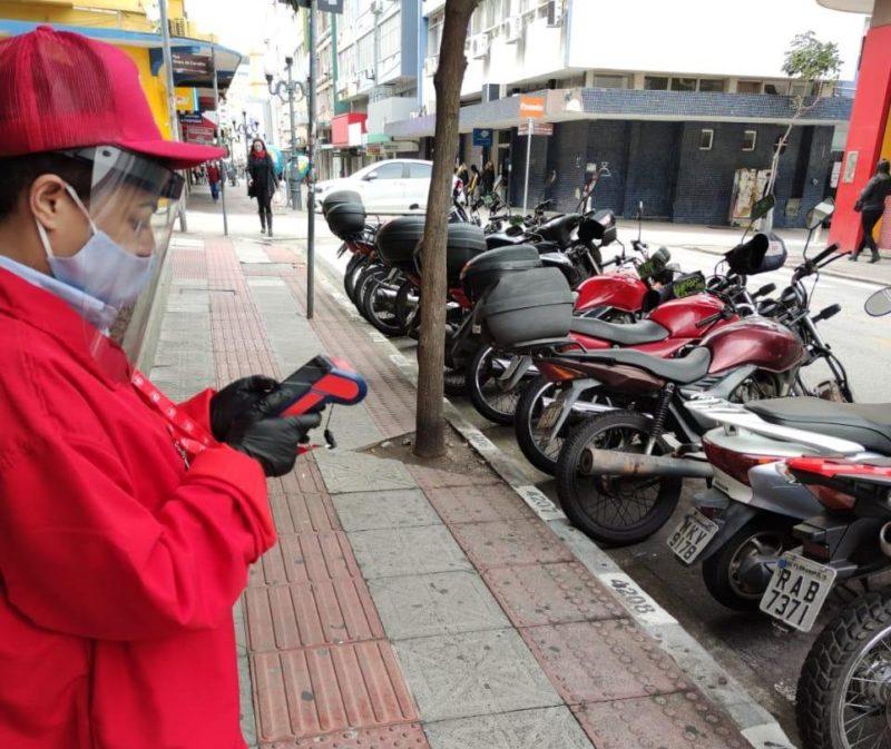 Estacionamento rotativo voltou a ser cobrado no dia 24 de agosto do ano passado – Foto: Rizzo Parking/Divulgação