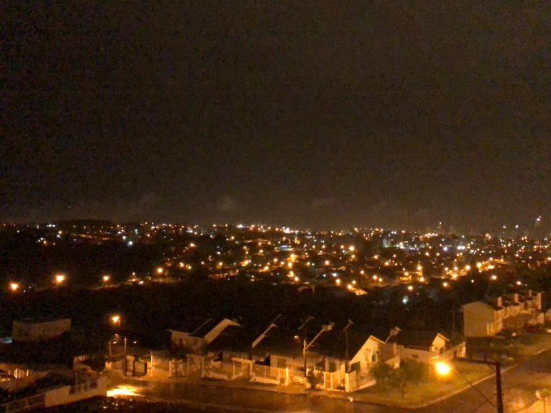 Sexta-feira foi marcada por tempestades em SC – Foto: Willian Ricardo/ND