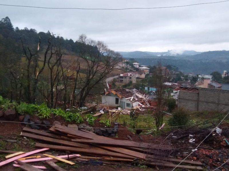 Prefeito de Água Doce vai declarar estado de calamidade pública após tornado – Foto: Cristiane Bello das Chagas/Divulgação