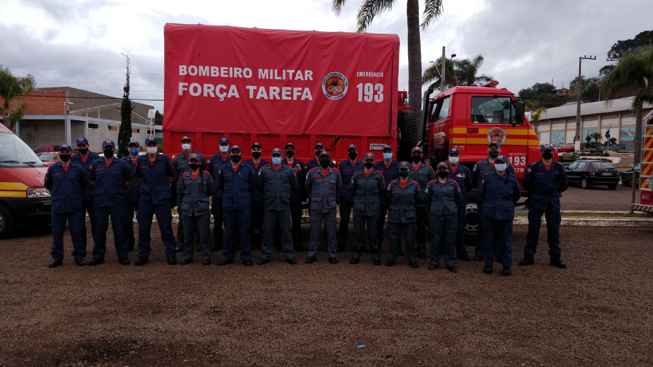 Forças-Tarefas dos Bombeiros ajudam as famílias do Meio-Oeste - Corpo de Bombeiros/Divulgação