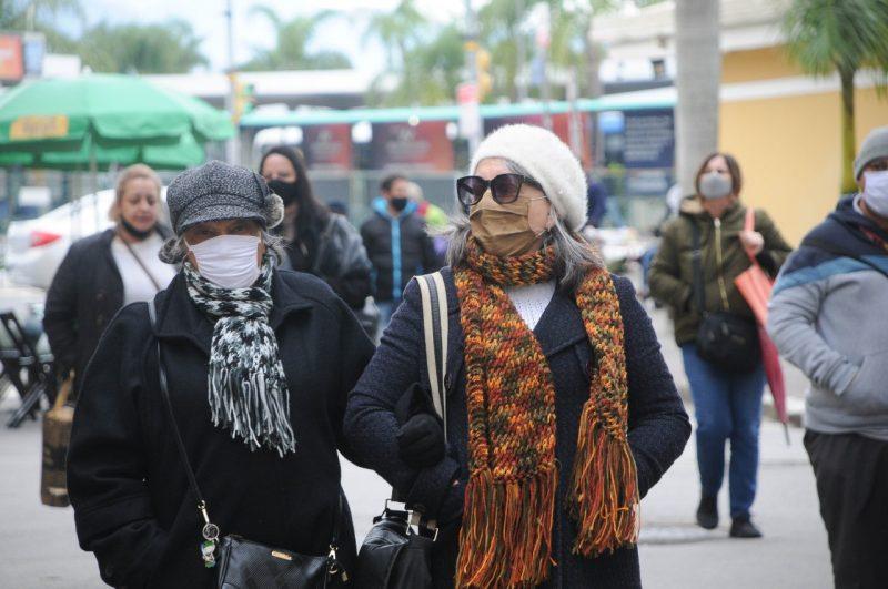 Defesa Civil de Florianópolis alerta para frio intenso nos próximos dias – Foto: Leo Munhoz/ND
