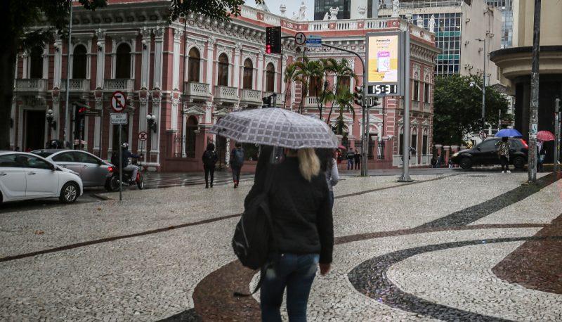 Santa Catarina deve ter mais chuvas nesta quarta-feira – Foto: Anderson Coelho/ND