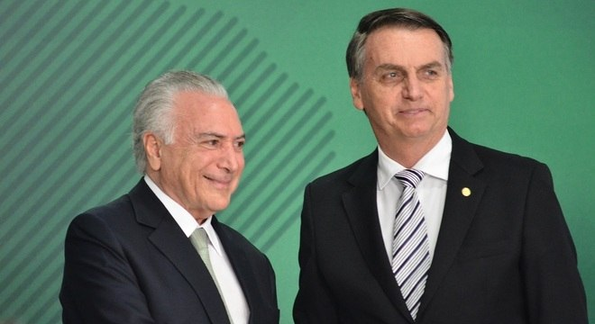 Temer foi convidado por Bolsonaro para chefiar a missão no Líbano. – Foto: Renato Costa/Framephoto/Estadão Conteúdo