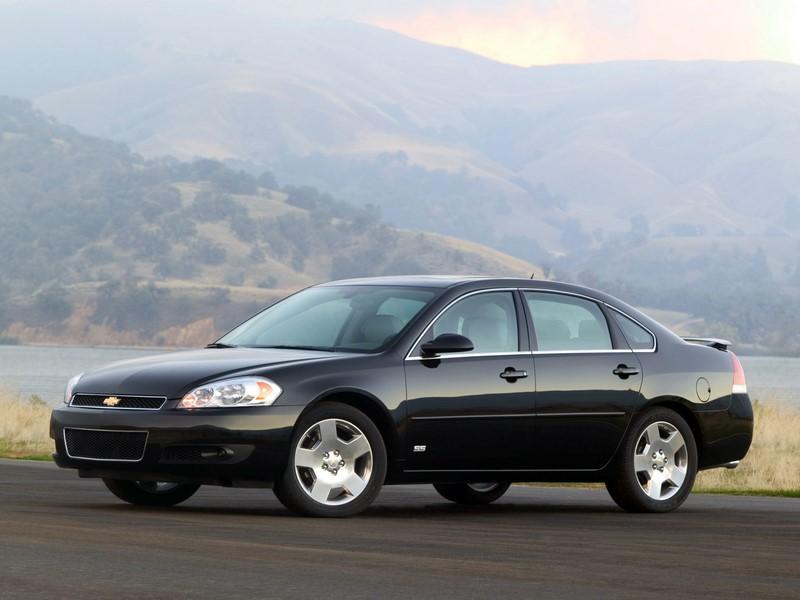 Chevrolet Impala (1958-1985 / 1994-1996 / 1999-2020): um dos modelos mais tradicionais da Chevrolet, ele já teve diversas idas e vindas. A última geração saiu de linha recentemente e não tem previsão de volta - Foto: Divulgação/Chevrolet/Garagem 360/ND