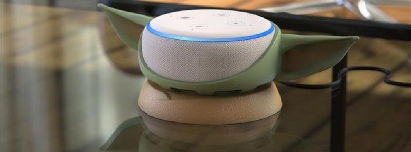 """Echo Dot: você já pode """"vestir"""" a assistente virtual com orelhas do Baby Yoda - Divulgação/OtterBox"""