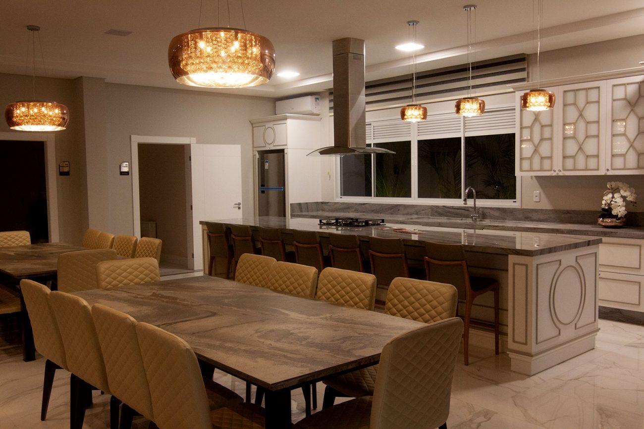 Acabamento sofisticado e elegante é marca do acabamento da AM Construções - AM Construções/Divulgação