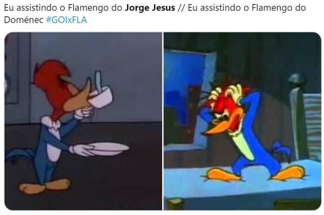 Veja os memes da segunda rodada do Brasileirão – Foto: Reprodução/Twitter
