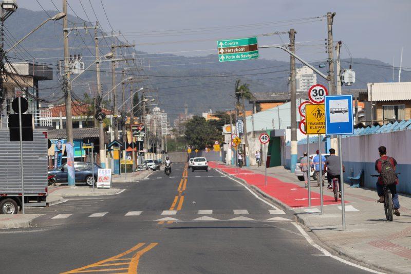 Beira-Rio de Navegantes – Foto/Divulgação: Prefeitura de Navegantes