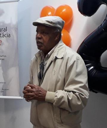 Seu Teco atuou pela edução de jovens negros no maciço do Morro da Cruz – Foto: Divulgação/ND