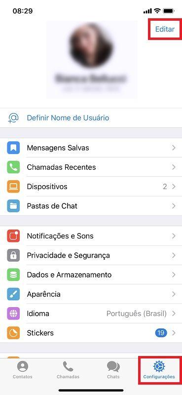 Passo 1 - Crédito: Reprodução/Telegram/33Giga/ND