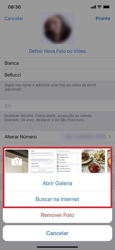 Passo 3 - Crédito: Reprodução/Telegram/33Giga/ND