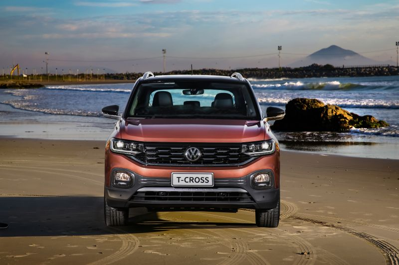 Mais vendidos: VW T-Cross surpreende e tira Chevrolet Onix da ponta - Divulgação/VW