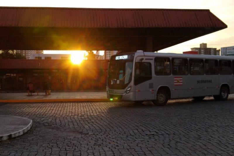 Blumenau volta a ter ônibus aos finais de semana – Foto: Divulgação / Prefeitura de Blumenau