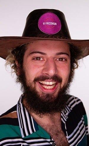 Cartolouco, jornalista e publicitário de 25 anos. Natural de São Paulo, onde reside até hoje. – Foto: Reprodução/ND