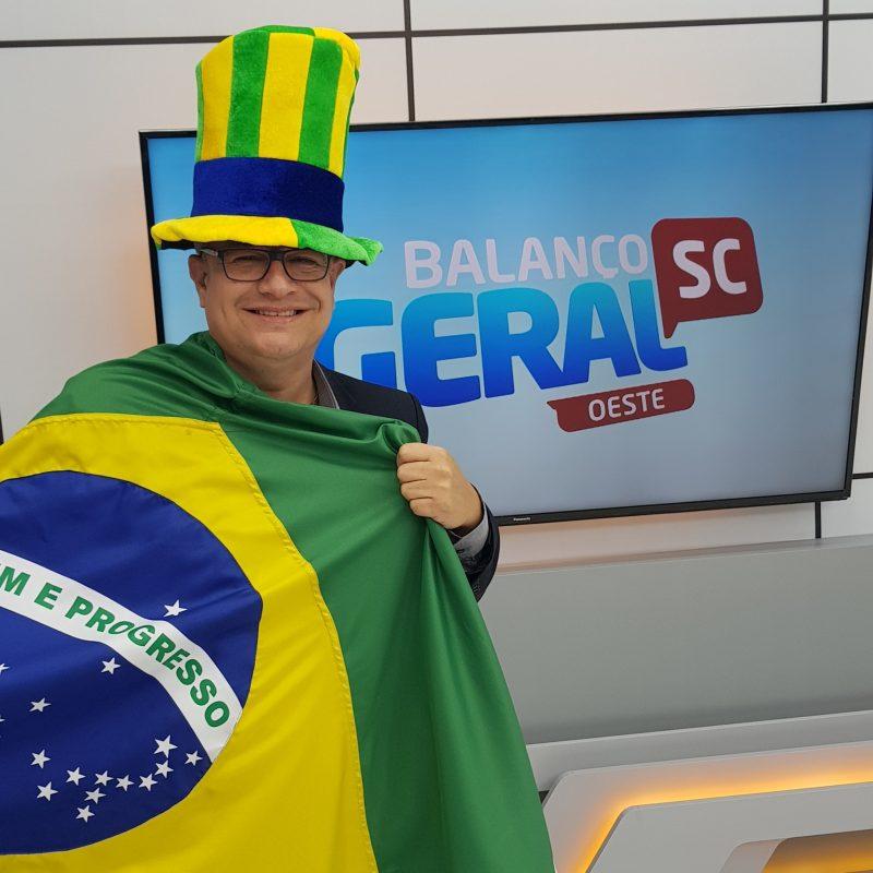 Eduardo Prado, apresentador do BG – Foto: Reprodução/NDTV
