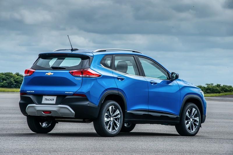 8- Chevrolet Tracker: 5.899 unidades - Foto: Divulgação/Chevrolet/Garagem 360/ND