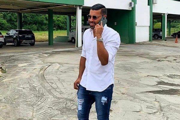 André Santos visita CT Romeu Georg, em Blumenau – Foto: Divulgação