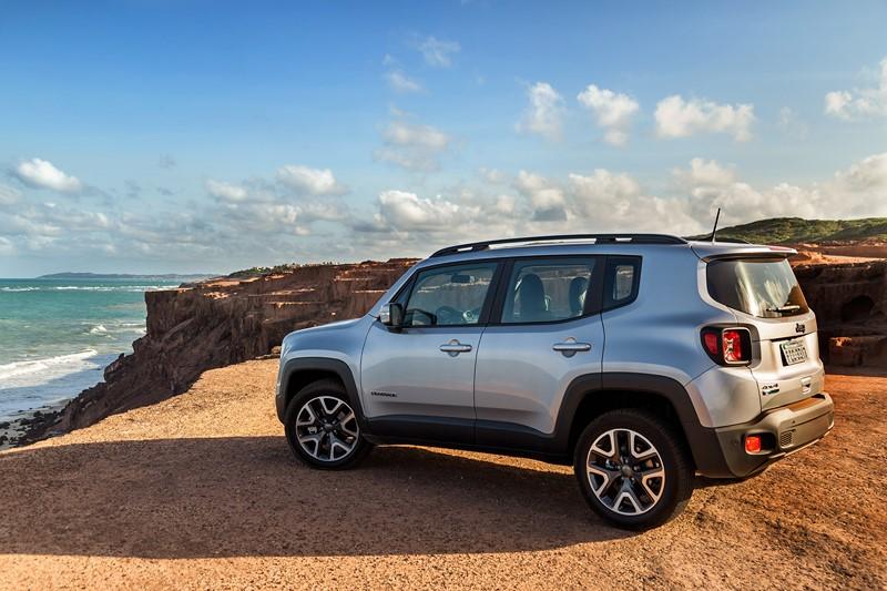 10- Jeep Renegade: 5.211 unidades - Foto: Divulgação/Jeep/Garagem 360/ND