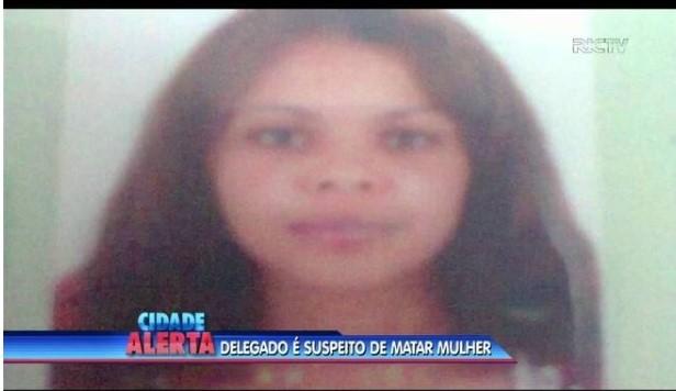 """<span style=""""font-weight: 400;"""">Ivonete Mezari Genuino, 24 anos, foi assassinada com quatro tiros na frente da filha </span>&#8211; Foto: NDTV/Arquivo/ND"""