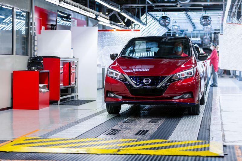 Nissan atinge marca de 500 mil unidades produzidas do elétrico Leaf - Divulgação
