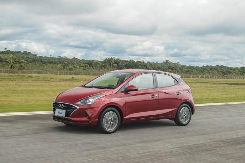 3- Hyundai HB20: 8.489 unidades - Foto: Divulgação/Hyundai /Garagem 360/ND