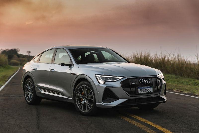 Audi e-tron Sportback chega ao Brasil a partir de R$ 511.990 - Divulgação/ Audi