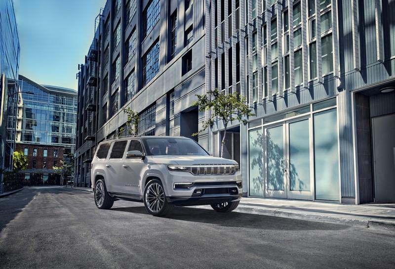 Jeep revela conceito Grand Wagoneer repleto de luzes e telas; modelo será lançado em 2021 - Divulgação/Jeep