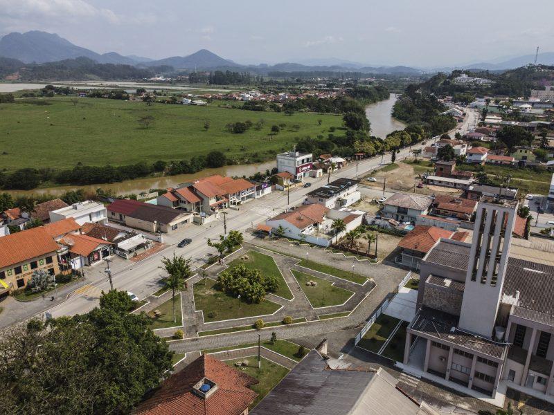Município de Canelinha, na Grande Florianópolis – Foto: Anderson Coelho/ND
