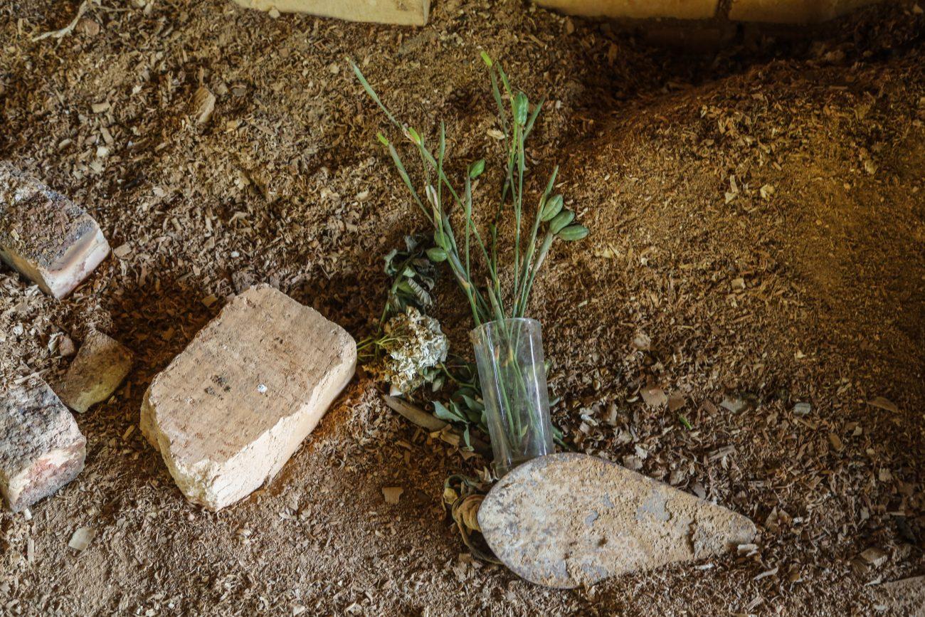 Companheiro encontrou o corpo da mulher em cerâmica abandonada - Anderson Coelho/ND