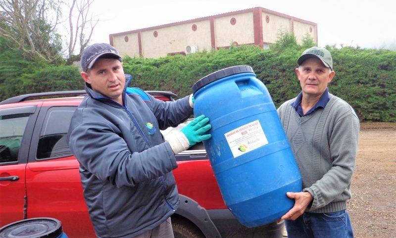 Programa Coleta Segura para gerenciamento de resíduos – Foto: Divulgação