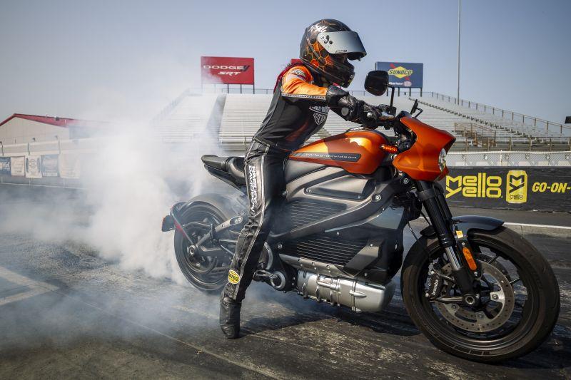 Harley-Davidson bate recorde de velocidade em competição - Foto: Divulgação/Harley-Davidson