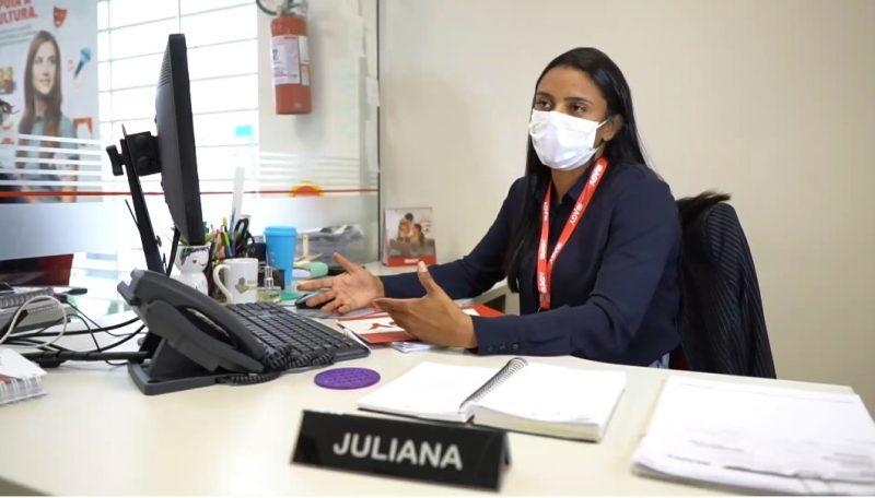 Juliana Moraes, gerente da Ibagy na agência Trindade – Foto: Reprodução NDTV