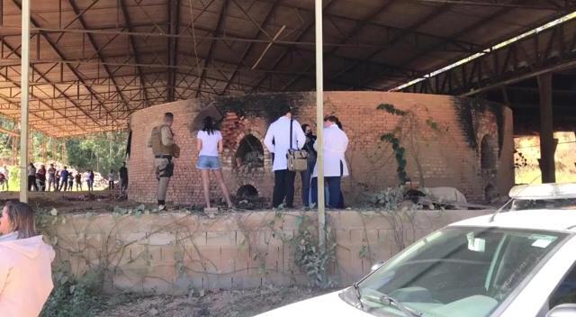 Jovem foi assassinada em uma fábrica abandonada, em Canelinha, na Grande Florianópolis – Foto: NDTV