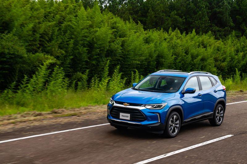Chevrolet Tracker terá motor 1.0 Turbo nas versões LTZ e Premier - Foto: Divulgação/Chevrolet