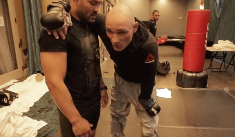 Vitor Miranda vai à exaustão na preparação para luta | Foto: Reprodução – Foto: Vitor Miranda vai à exaustão na preparação para luta | Foto: Reprodução