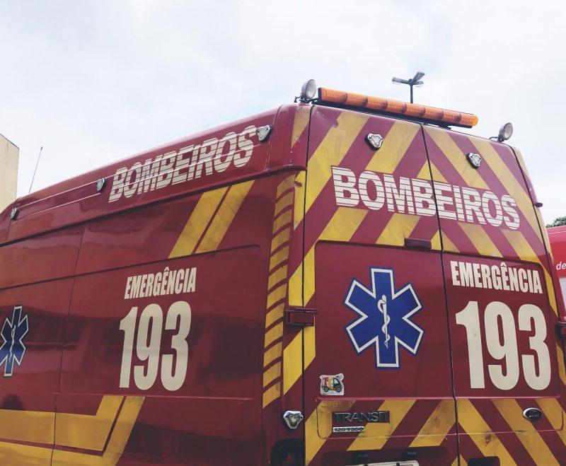 Homem apresentava sangramento na boca e no nariz – Foto: Willian Ricardo/ND