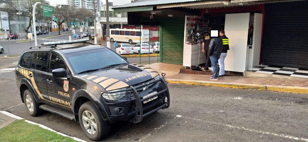 A ação visa combater grupos criminosos organizados em várias cidades de Santa Catarina e Paraná - Felipe Kreusch/ND