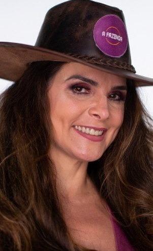 Luiza Ambiel é atriz e jornalista, tem 48 anos e é natural de Itatiba, São Paulo. – Foto: Reprodução/ND