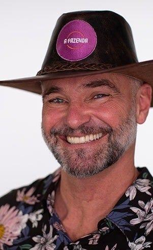 Matheus Carrieri, 53 anos, ator e professor de educação física. – Foto: Reprodução/ND