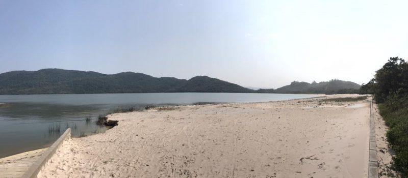 Captação na Lagoa do Peri está sendo reduzida gradativamente- Foto: Bruna Stroisch/ND
