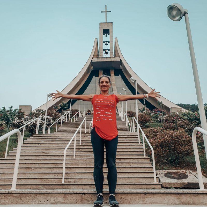 O último sábado (12) ficou marcado na vida de Melissa Aguiar Battisti Porto. A Manezinha da Ilha completou o desafio de <a href=