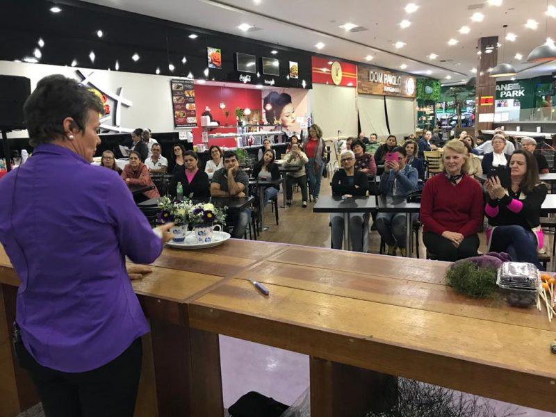 Por conta deste aumento, a rede Bistek Supermercados está promovendo mais uma edição da Expo Flores. Neste ano ela terá inicio junto com a primavera, nesta terça-feira (22) e termina no próximo dia 27 – Foto: Bistek Supermercados/Divulgação