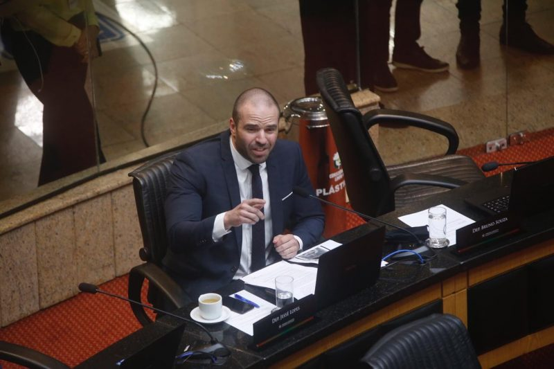 Projeto do deputado estadual Jessé Lopes passou na Comissão de Constituição e Justiça da Assembleia – Foto: Anderson Coelho/ND