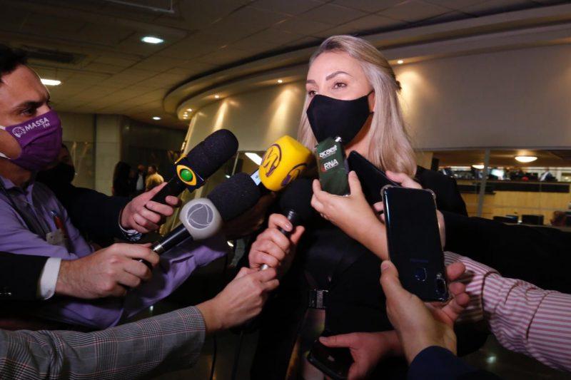 Vice-governadora Daniele Reinehr em entrevista – Foto: Anderson Coelho/ND