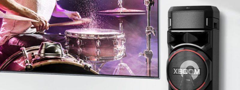 Testamos: caixa acústica LG XBoom RN9 agrada por qualidade sonora, conectividade e facilidade de uso -