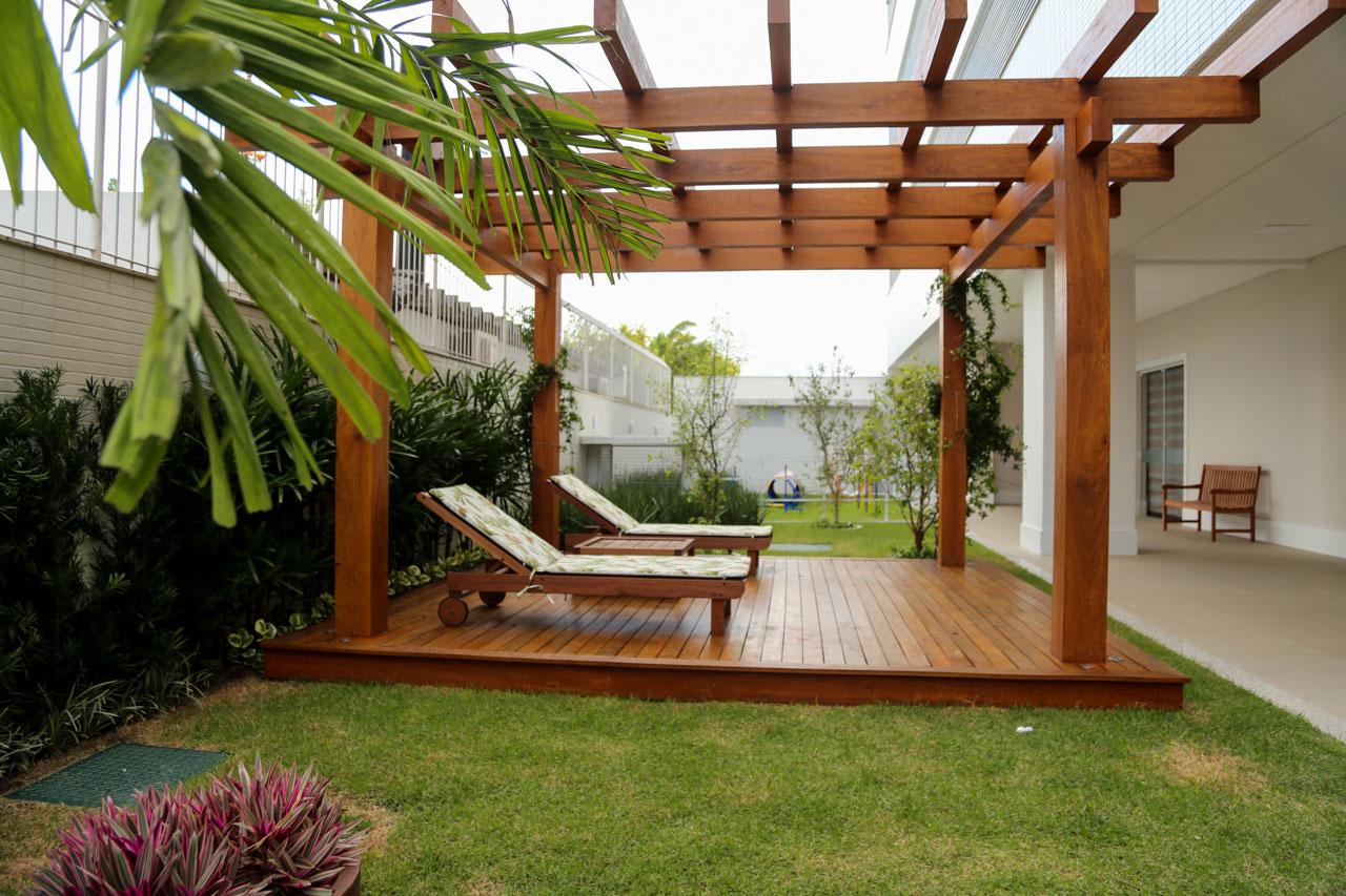 Área comum do residencial Dolce Vitta, em Palhoça - AM Construções/Divulgação