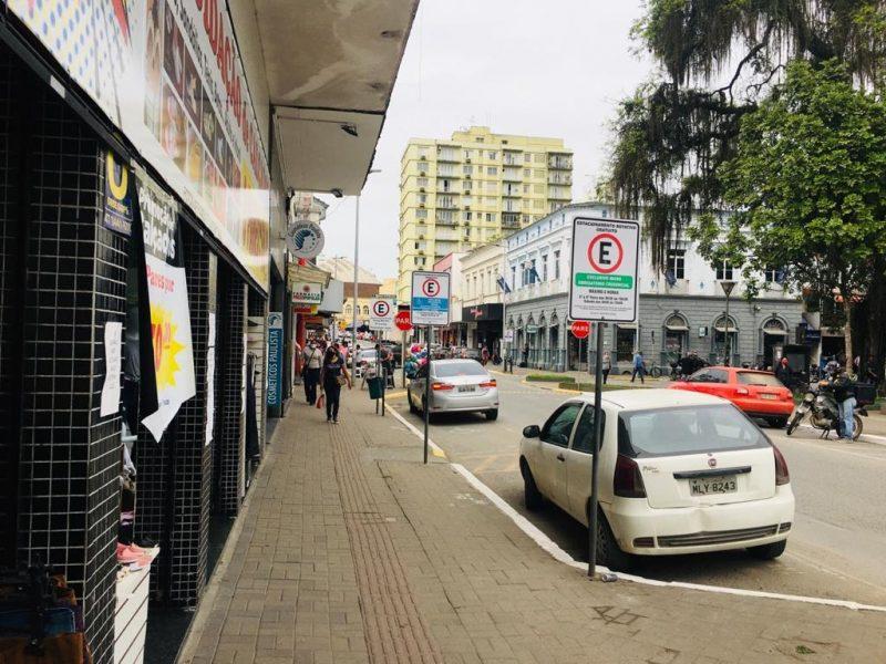 Sugestão é que comércio fique fechado por até sete dias em Joinville – Foto: Raquel Schiavini Schwarz/ND