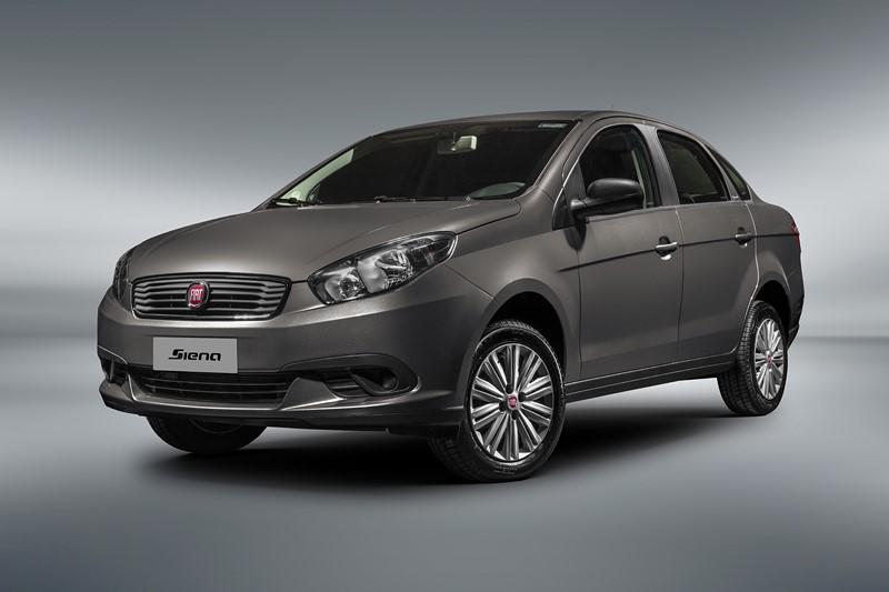 Fiat Grand Siena: 0KM, o sedã tem um bom custo-benefício e pode até ser preparado para ter o kit GNV - Foto: Divulgação/Fiat /Garagem 360/ND