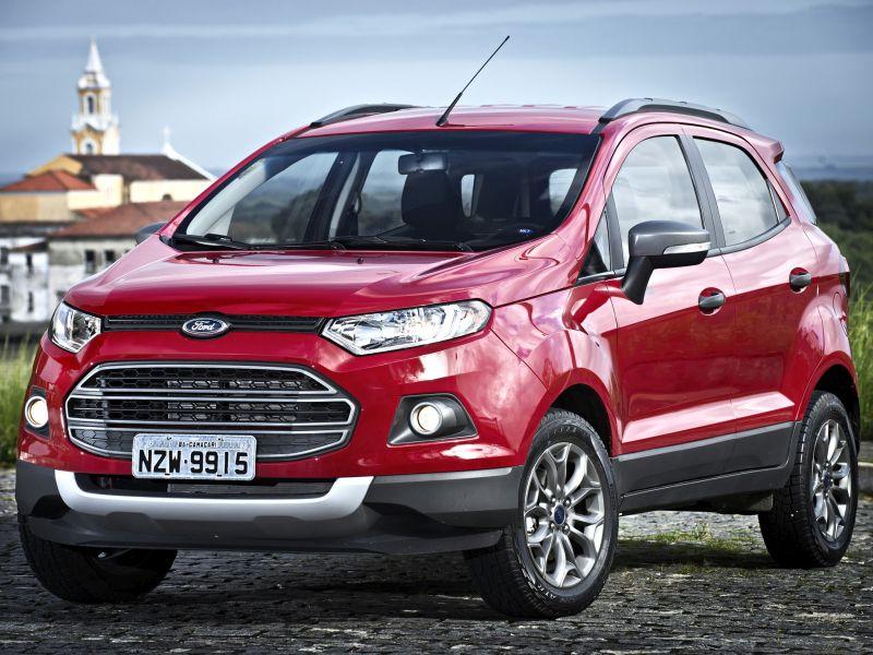 Recall da Ford convoca Fiesta e EcoSport por problemas no trinco - Divulgação/Ford